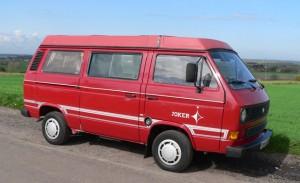 1987 VW T25 / T3 Westfalia Joker Poptop Camper