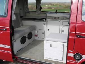 1987 VW T25 / T3 Westfalia Joker Interior