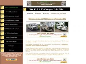 VW T25 / T3 Camper Information Site