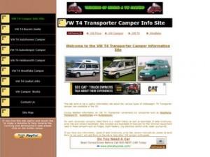 VW T4 Transporter Camper Information Site