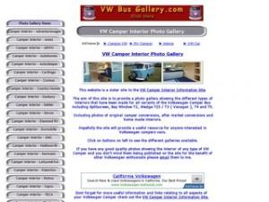 VW Camper Interior Photo Gallery