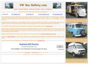 VW Bus Photo Image Gallery