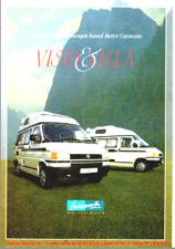 VW T4 Holdsworth Vista and Villa XL Brochure