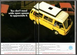 Aug 1983 VW T25 Autohomes Kamper Magazine Advert