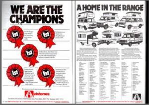 Aug 1983 VW T25 Autohomes Magazine Advert