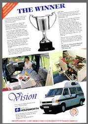 VW T4 Holdsworth Vision Magazine Advert