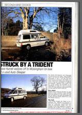 1997 VW T4 Autosleeper Trident